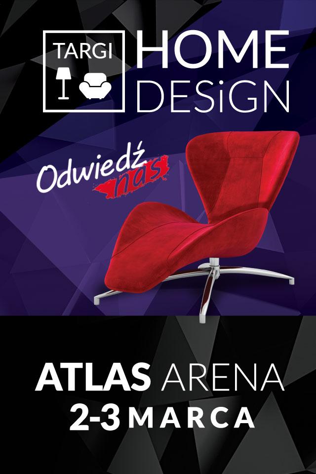 HomeDesign - architekt wnętrz w Łodzi w Atlas Arenie